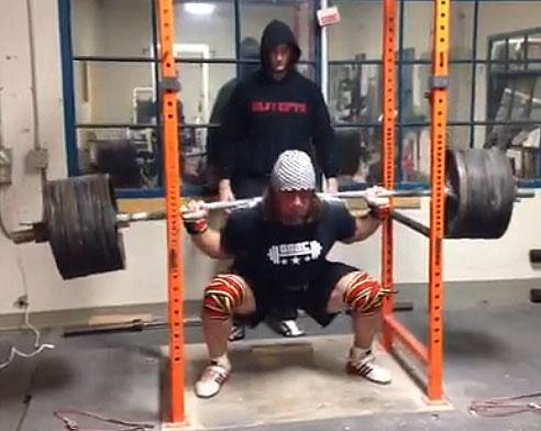 Dan Green – World record raw powerlifter