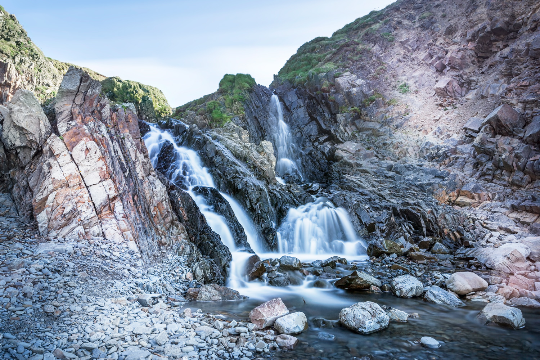 Cornish waterfall