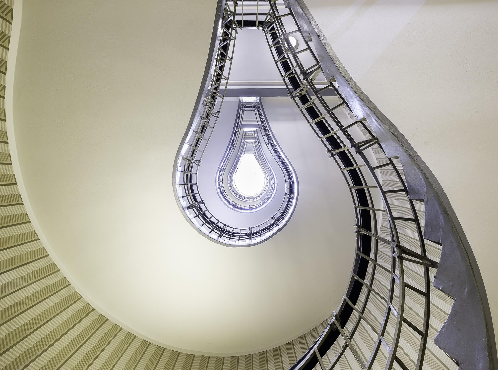 Light Bulb Staircase, Prague