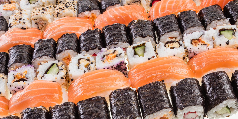 Sushi (ook maar bij AH Zwolle-Zuid gekocht)