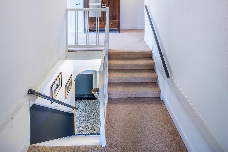 Trapopgang naar de eerste verdieping