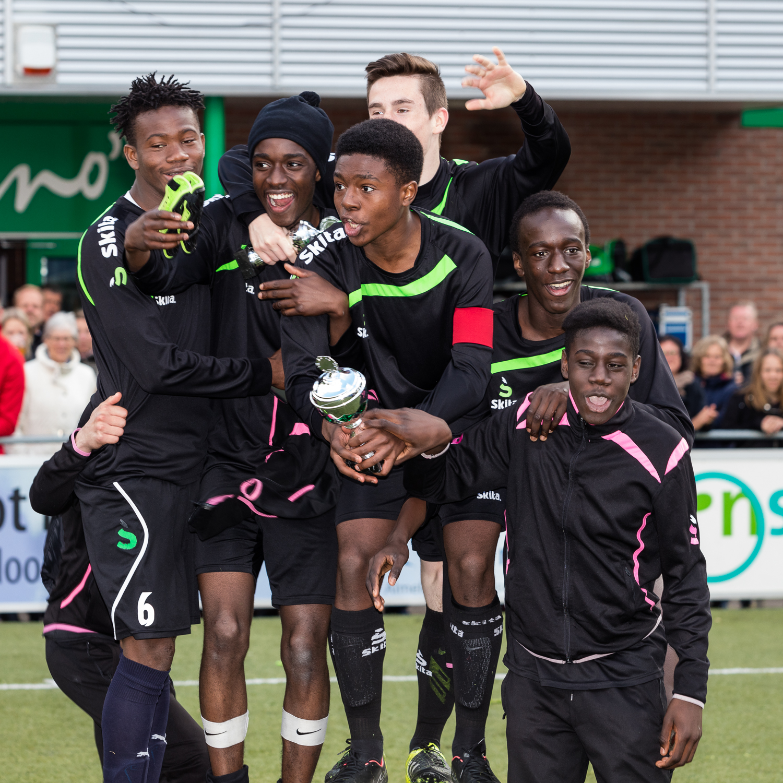 A celebrating FC Gobelins!