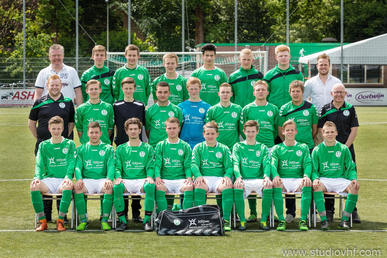 Teamfoto A1, gemaakt op 21-05-2016, mooi op tijd voor het nieuwe seizoen:)