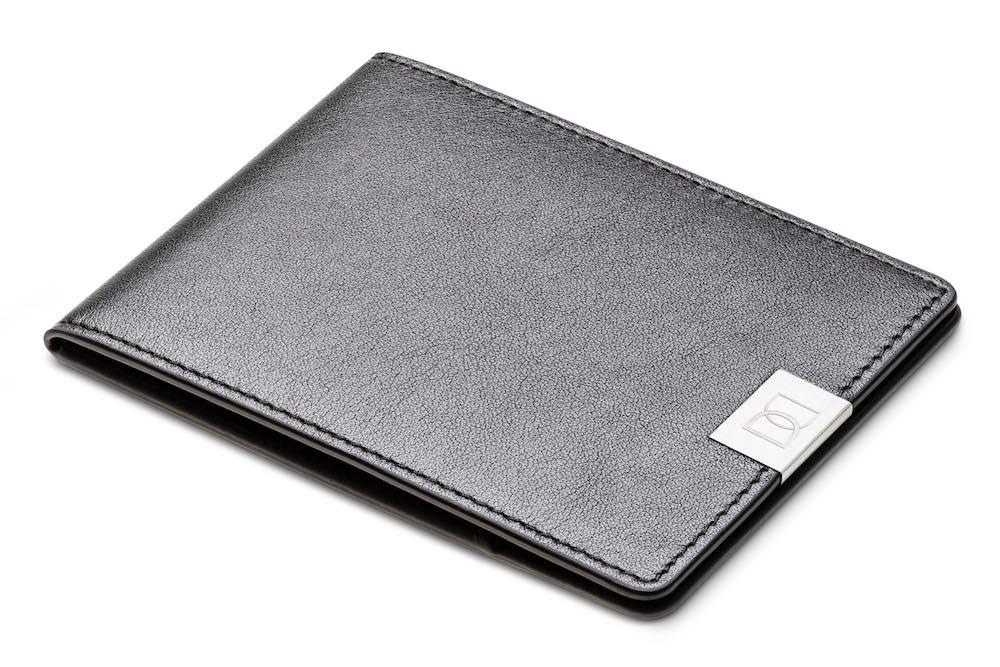 Dun Wallets Black Silver