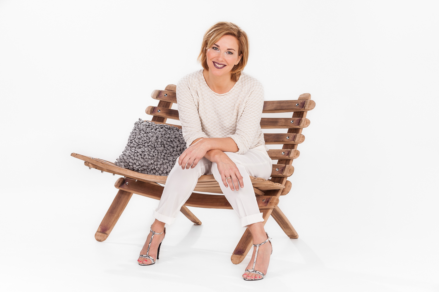 outdoor wooden chair with model.jpg