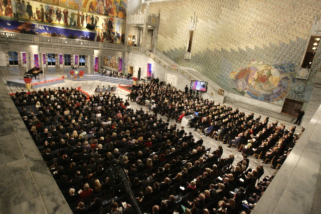 Annual Nobel Peace Prize Ceremony - Participants attend as part of Young Leaders programme