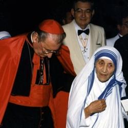 Cardinal O'Connor with Mother Teresa   http://www.kofc.org/un/en/prolife/prayerforlife/cardinal.html