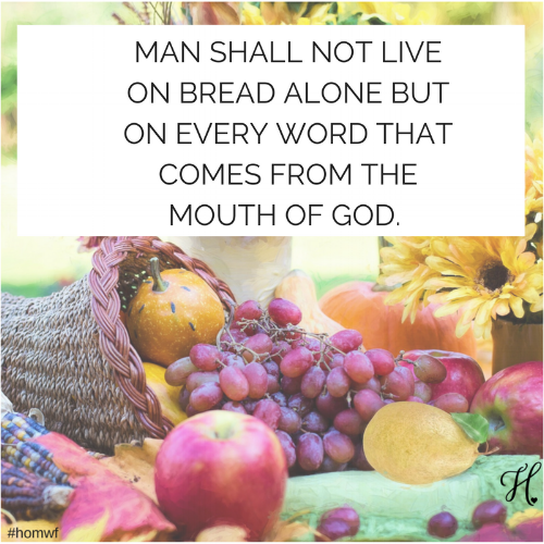 MAN SHALL NOT LIVE ON BREAD ALONE BUT ON EVERY WORD THAT COMES FROM THE MOUTH OF GOD..png