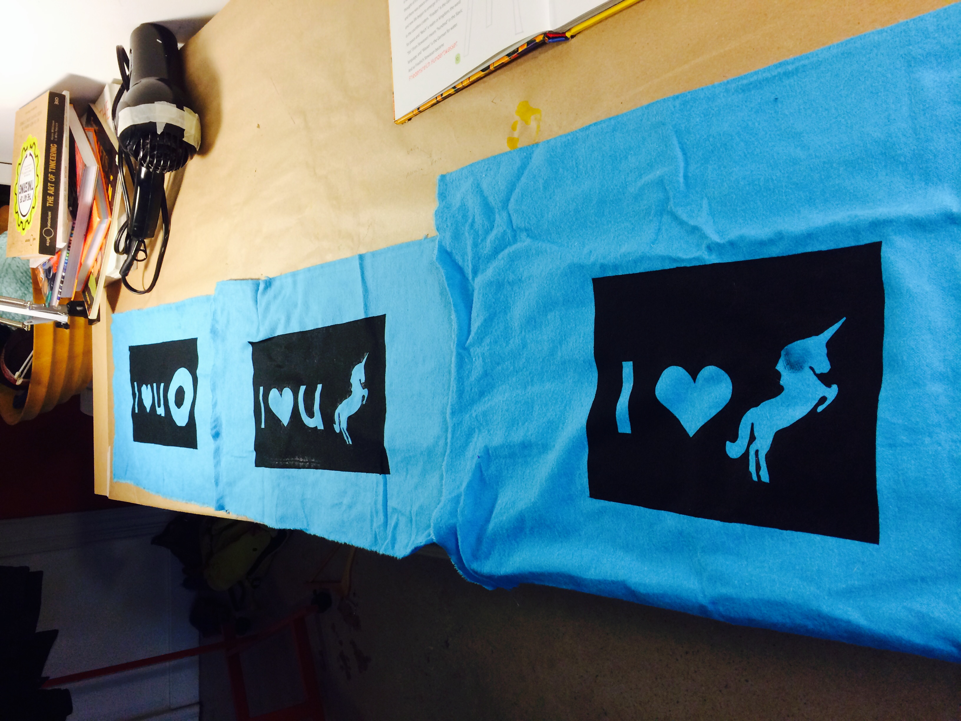 And inspired our focus for the next Open Studio: screen printing!!