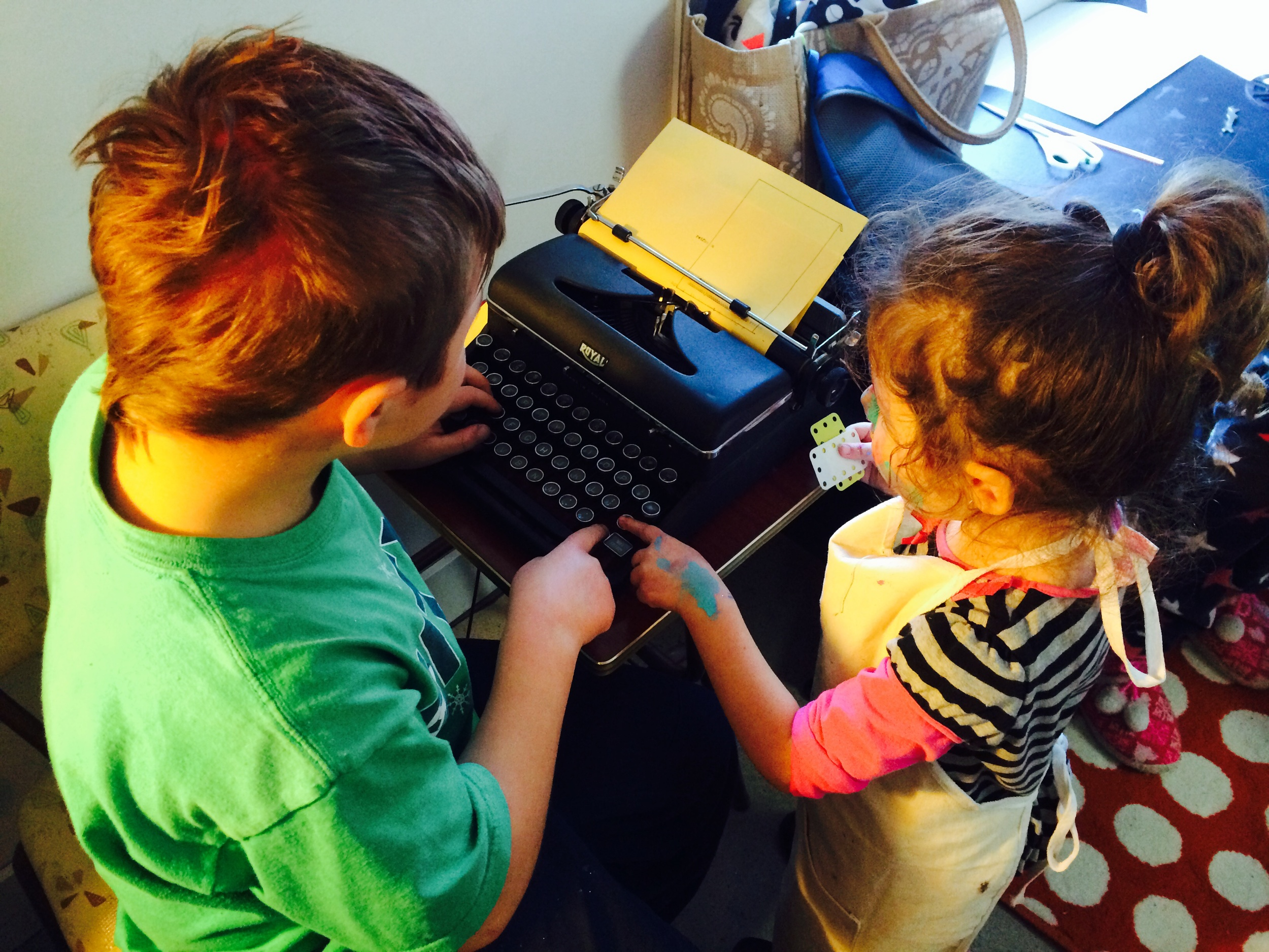 Hugely popular type writer for letter, poetry explorations!