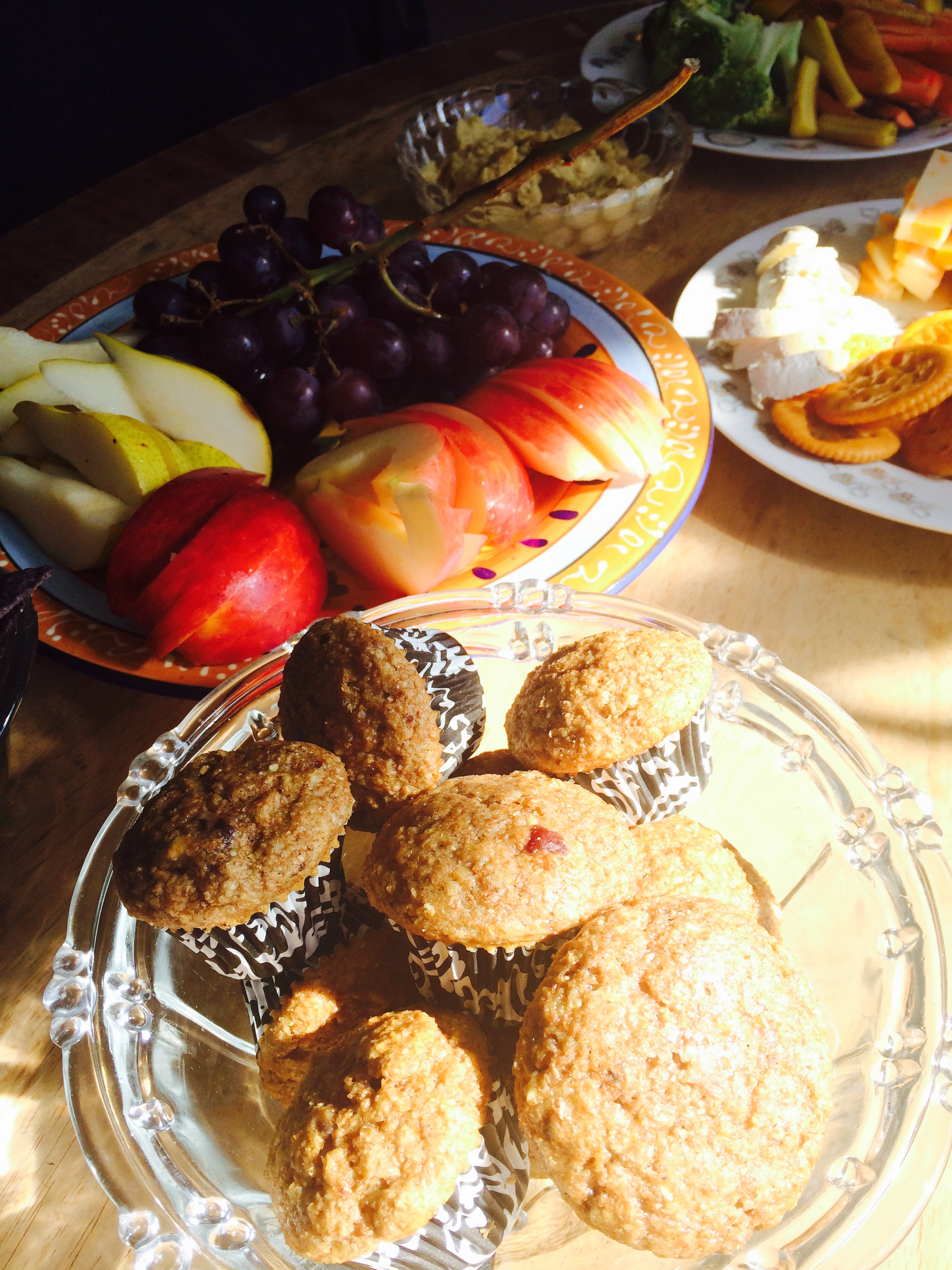 A moment to honour Heather's homemade muffins! Each week she makes delicious muffins to keep our artists going!