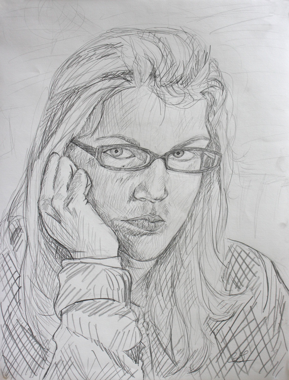 Self Portrait Sketch