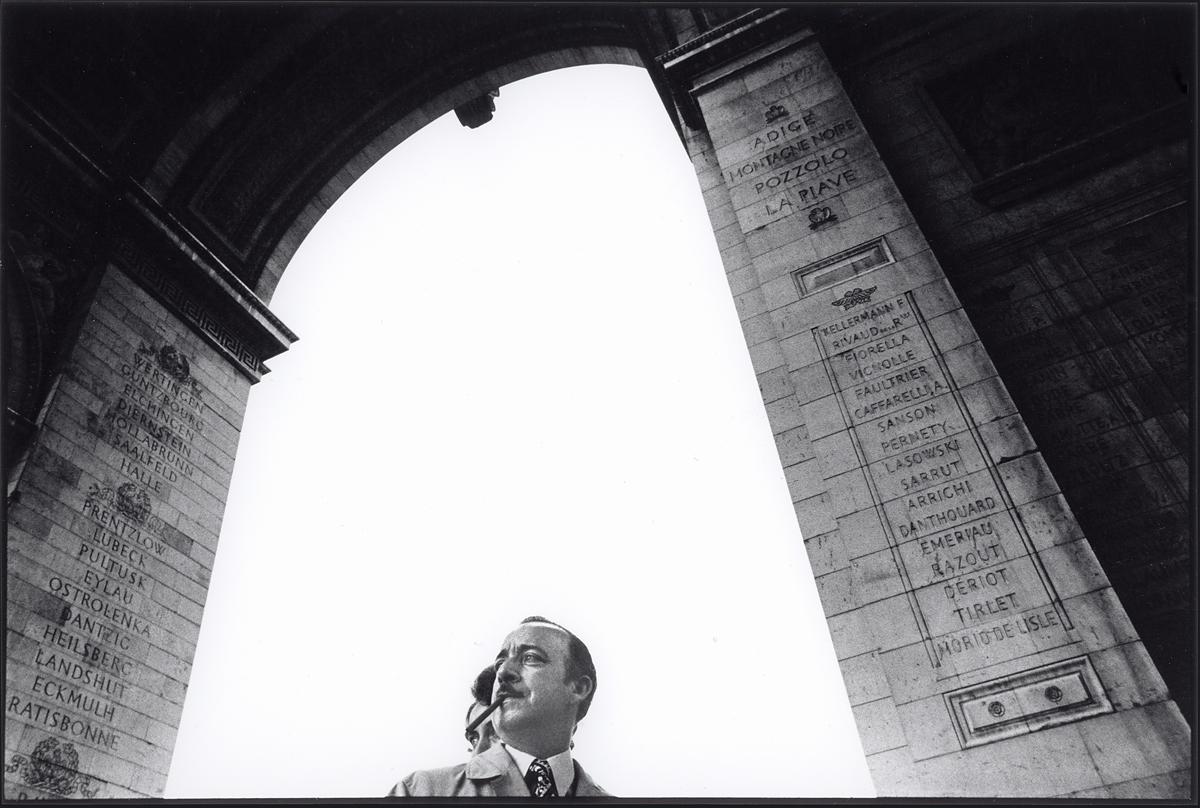 Arc de Triomphe  Paris  1973