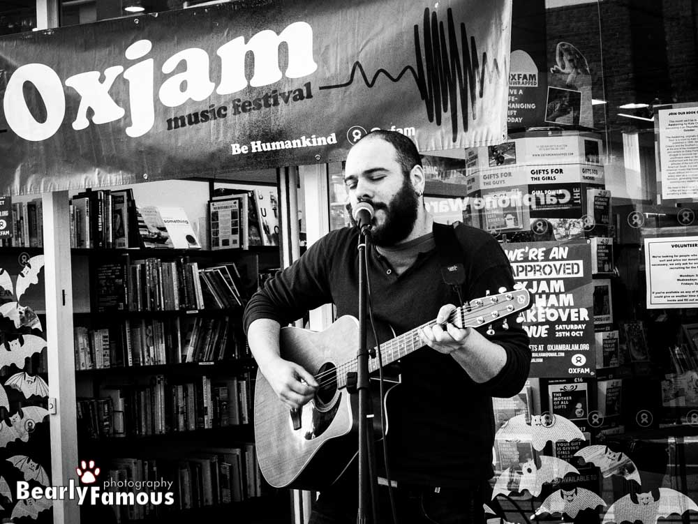 Live at Oxjam Balham - London  10/2014  Pic by   Bearly Famous