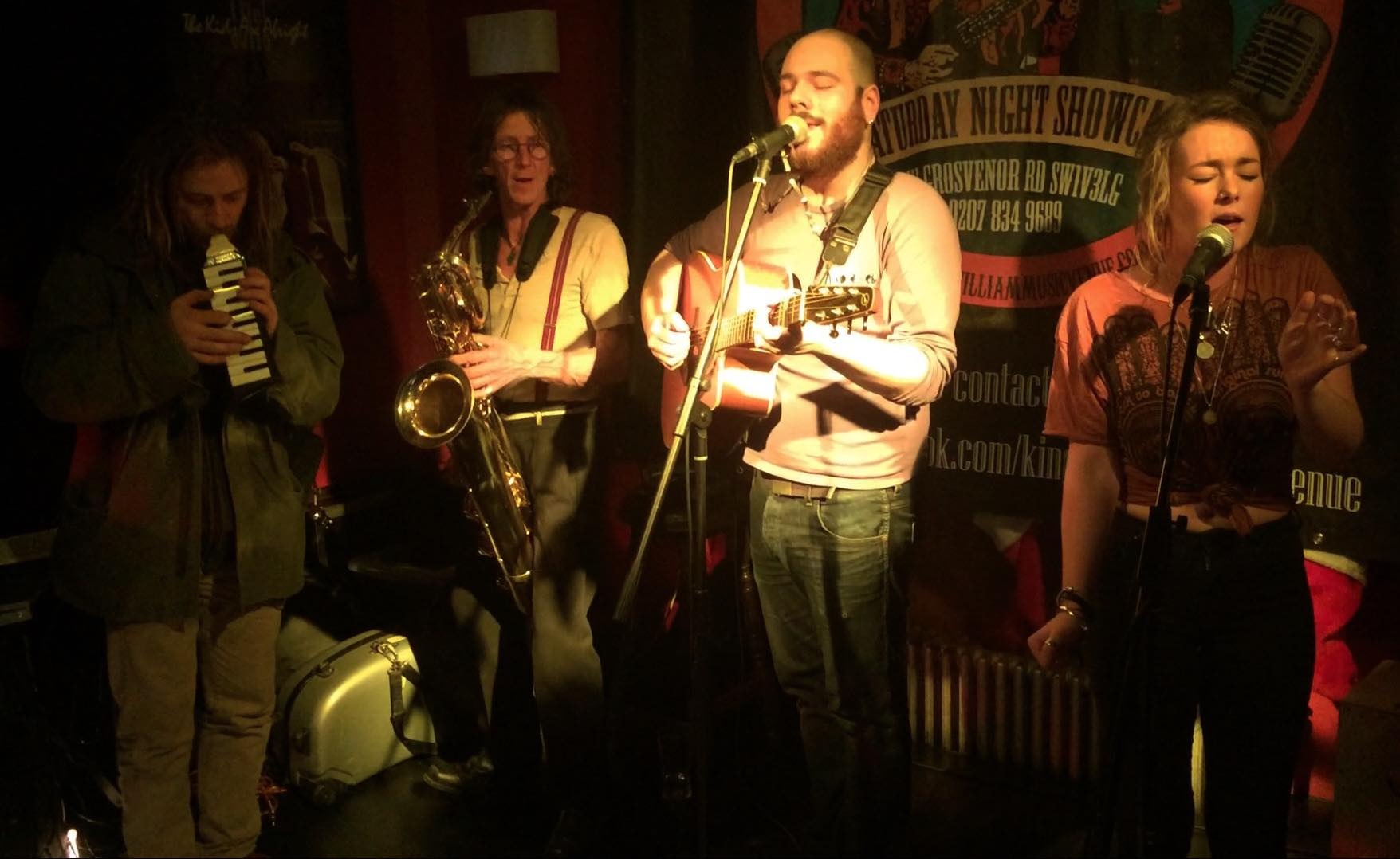 Jam with Chelsea Bridget and friends at King William IV - London 12/2014