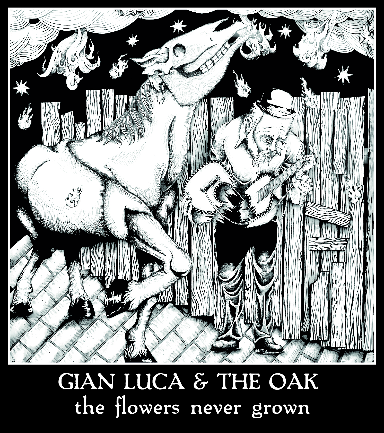 Gian Luca & The Oak - The Flowers Never Grown cover1
