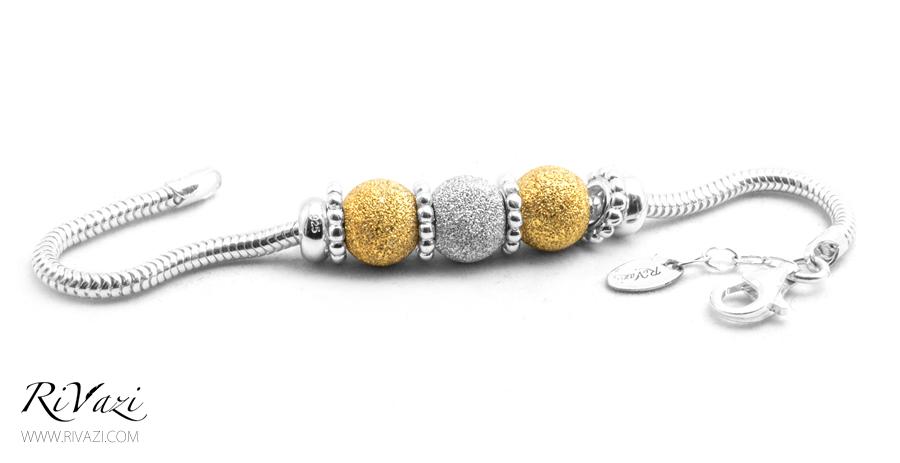 RiVazi Silver & Gold Plated Stardust Sterling Silver _ B.jpg