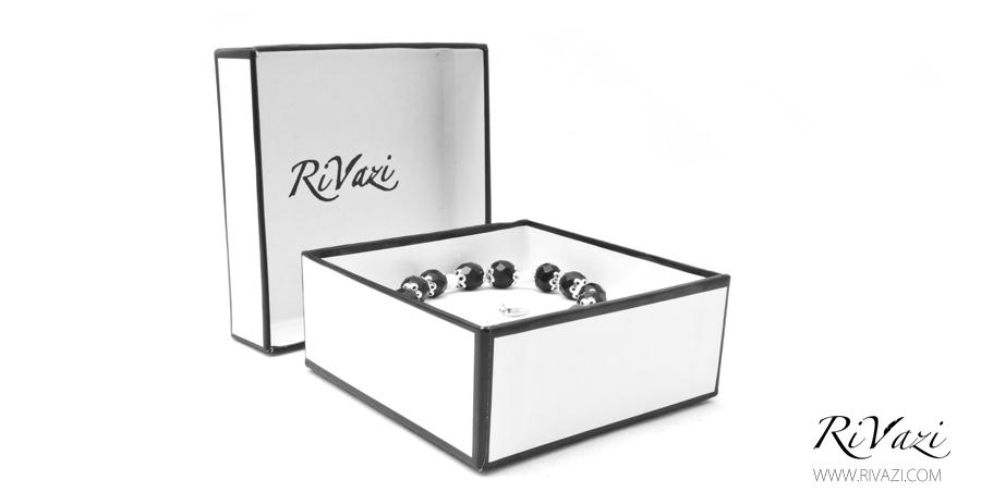 RiVazi Midnight Serene Bracelet Black Agate 5.jpg