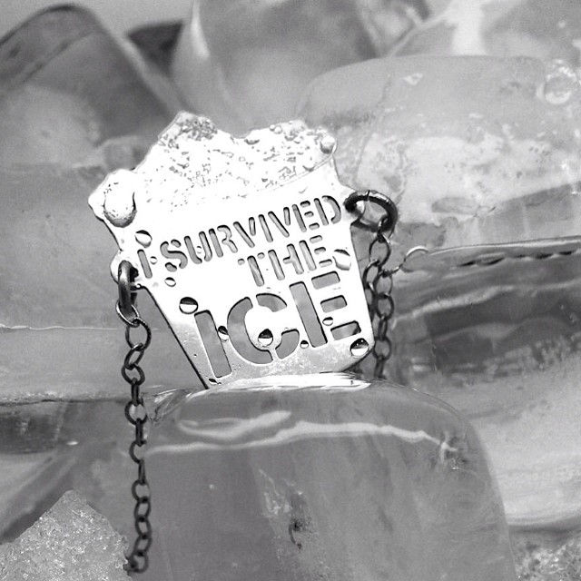 "HAVE YOU TAKEN ON THE ICE BUCKET CHALLENGE?! WE HOPE YOU HAVE AND IF NOT, CONSIDER YOURSELF NOMINATED ;) Let's take action and support this beautiful cause for a hope for a cure in the near future. We have taken the pledge to donate All profits from ""I Survived the Ice"" necklaces to ALS Association for each single order.Show your support for the cause with this necklace and know you have taken a part in supporting a good cause.  Proudly wear the ""I Survived the Ice"" necklace and make your statement.  http://www.rivazi.com/new-blog/2014/8/27/als  #rivazi #icebucketchallenge #isurvivedtheice #als #charity #cause #support #ice #bucket #challenge #feelgood #dogood"