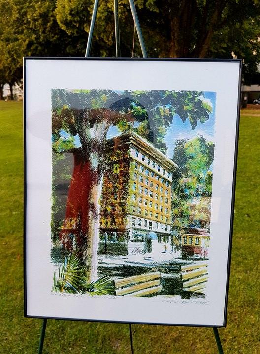 The Sylvia Hotel.