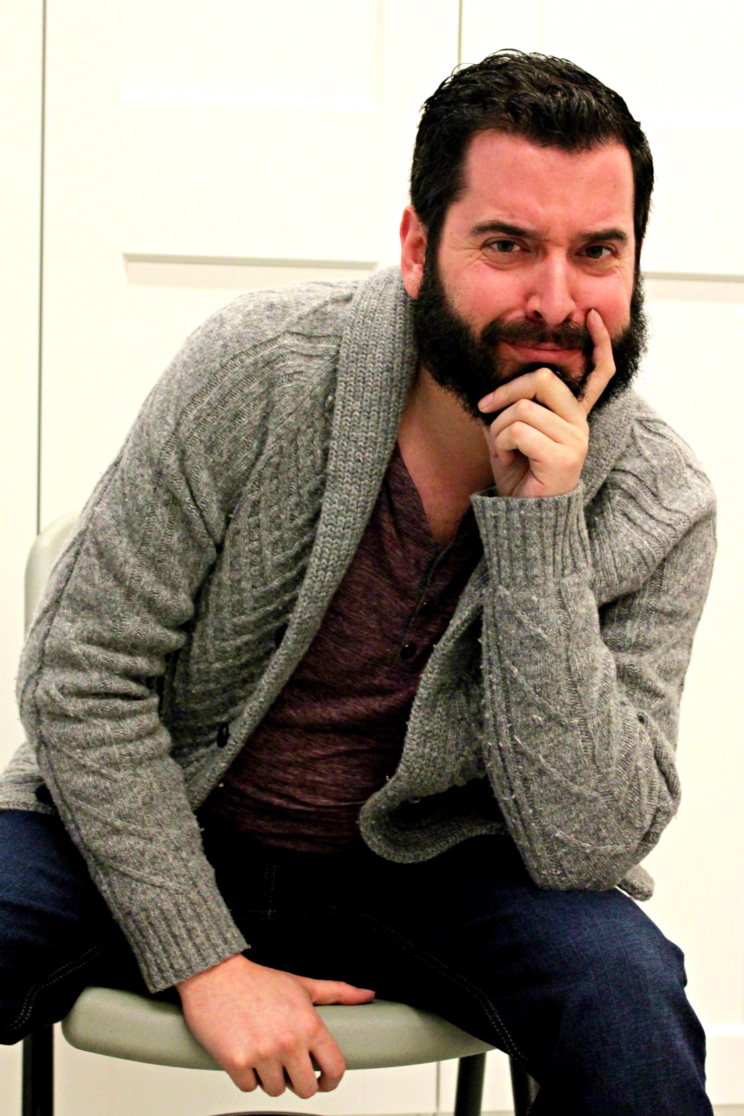 "Ryan Mooney stars in ""Buyer & Cellar"" at PAL Studio Theatre."