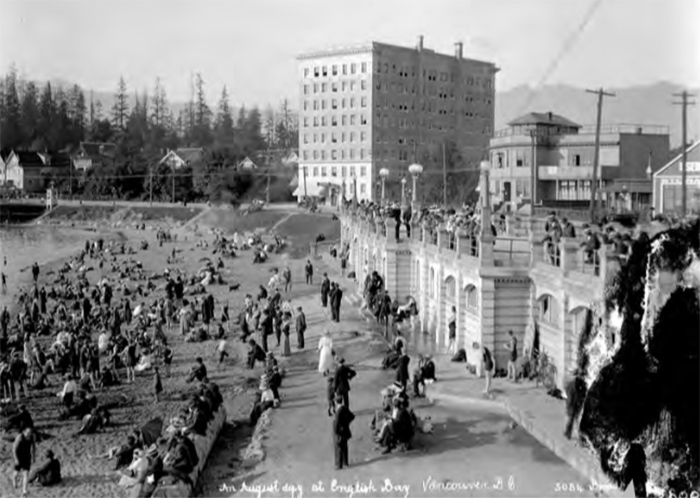 Dominating the West End in 1912.