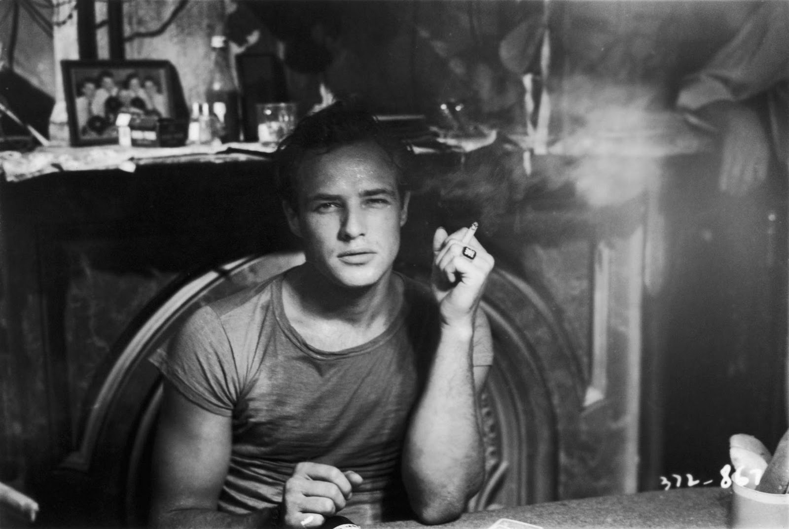 Marlon Brando in the 1951 classic A Streetcar Named Desire, screening this month at Barclay Manor.