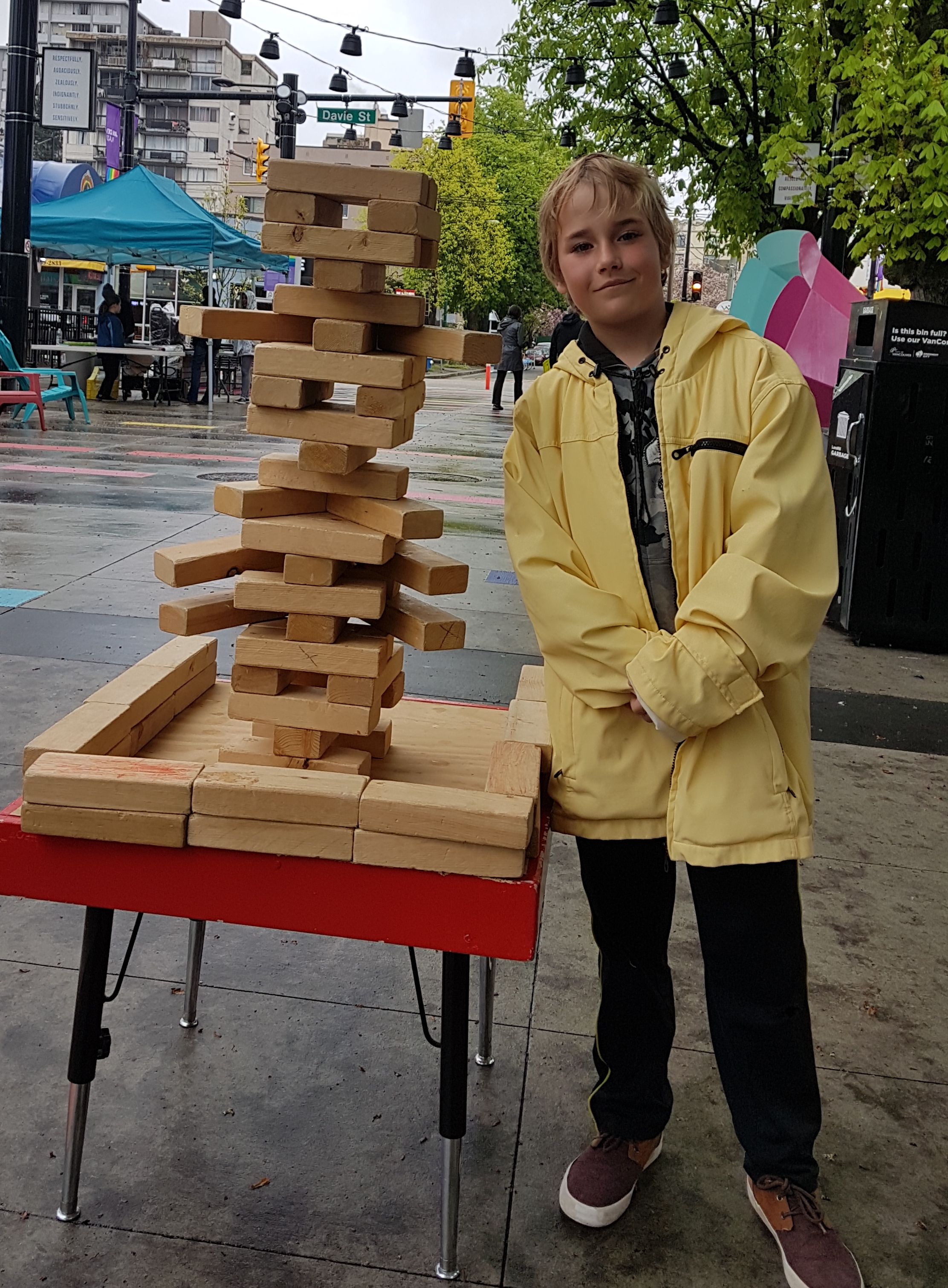 The games people play, even in the rain! (Christopher Clarke Hyndman Photo)