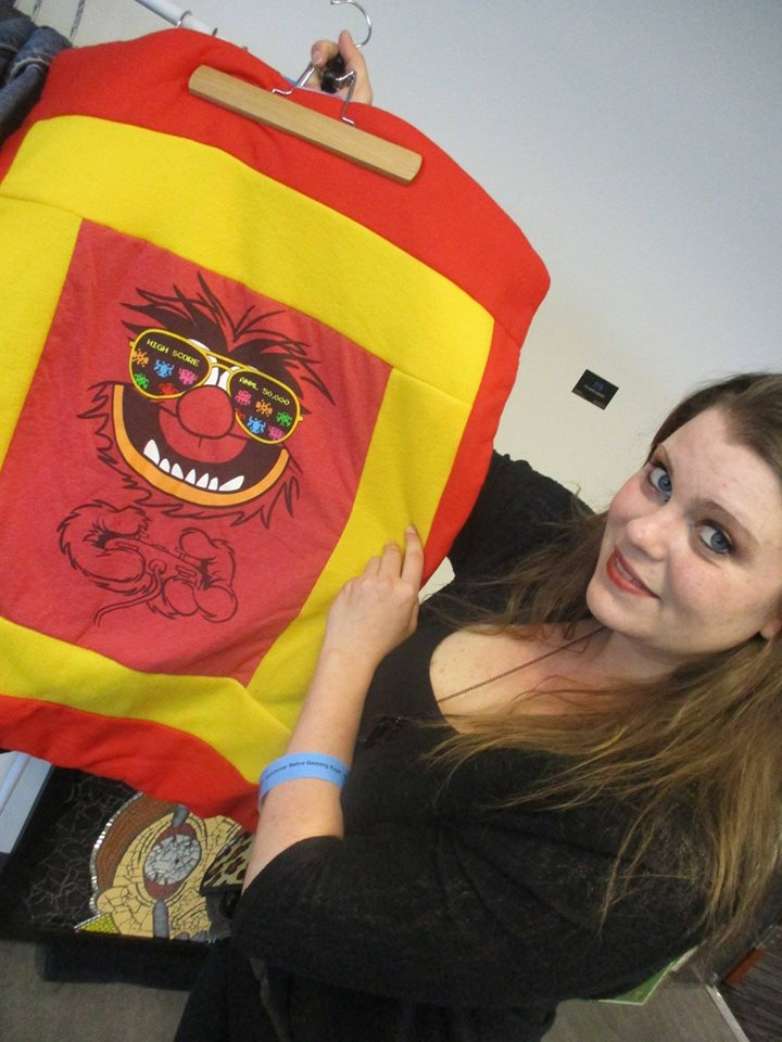 Morgan, with her original pillow designs, can be found at the West End Summer Market.