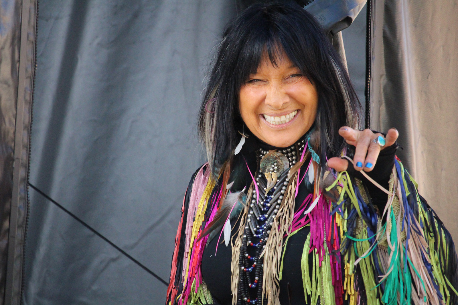 Buffy St. Marie will be among the entertainers appearing at SKOOKUM Music Festival.