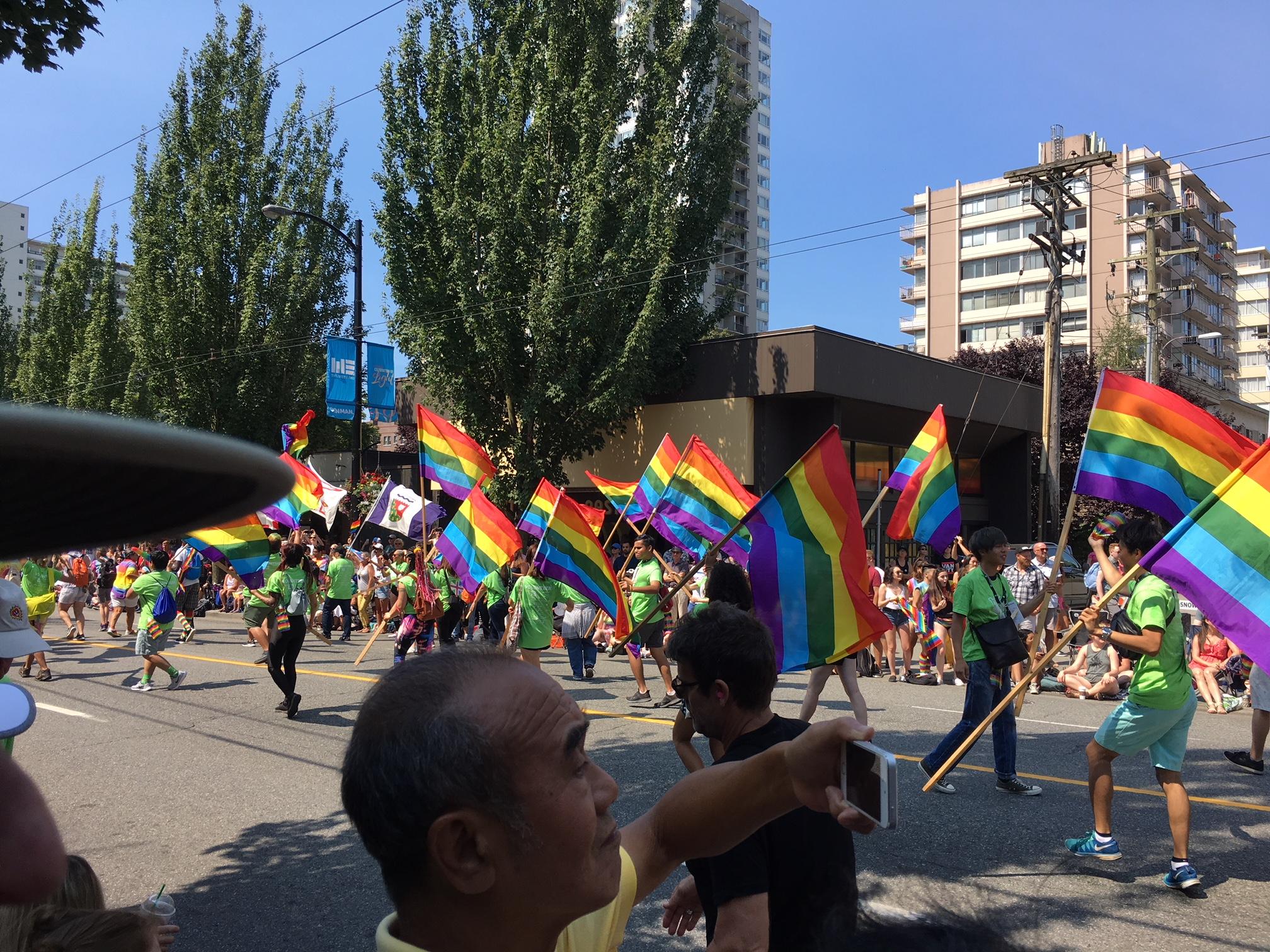 Everyone has Pride! (Gordon Hu Photo)