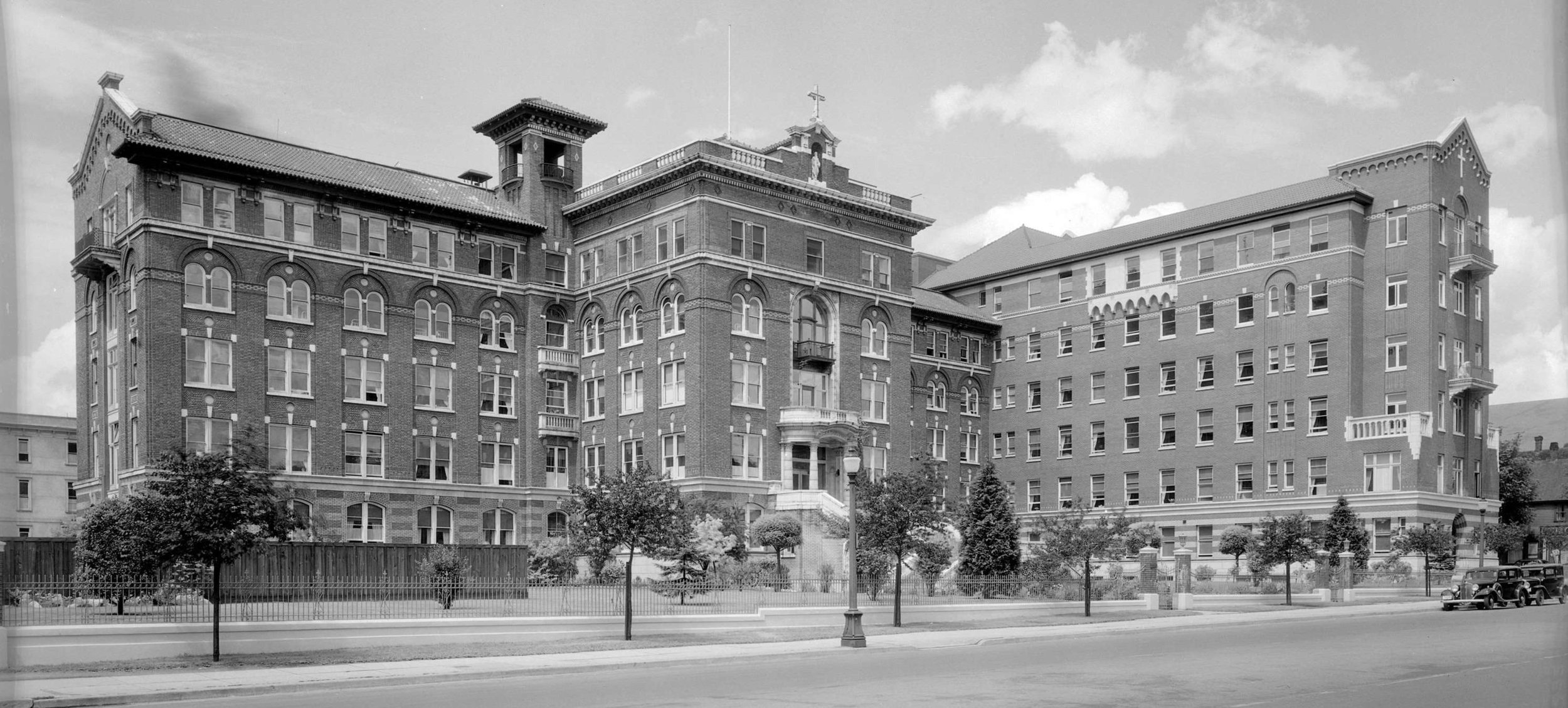 Early days at St. Paul's Hospital.