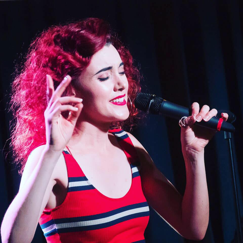 Siobhan Walsh at Jazz Vespers on January 20.