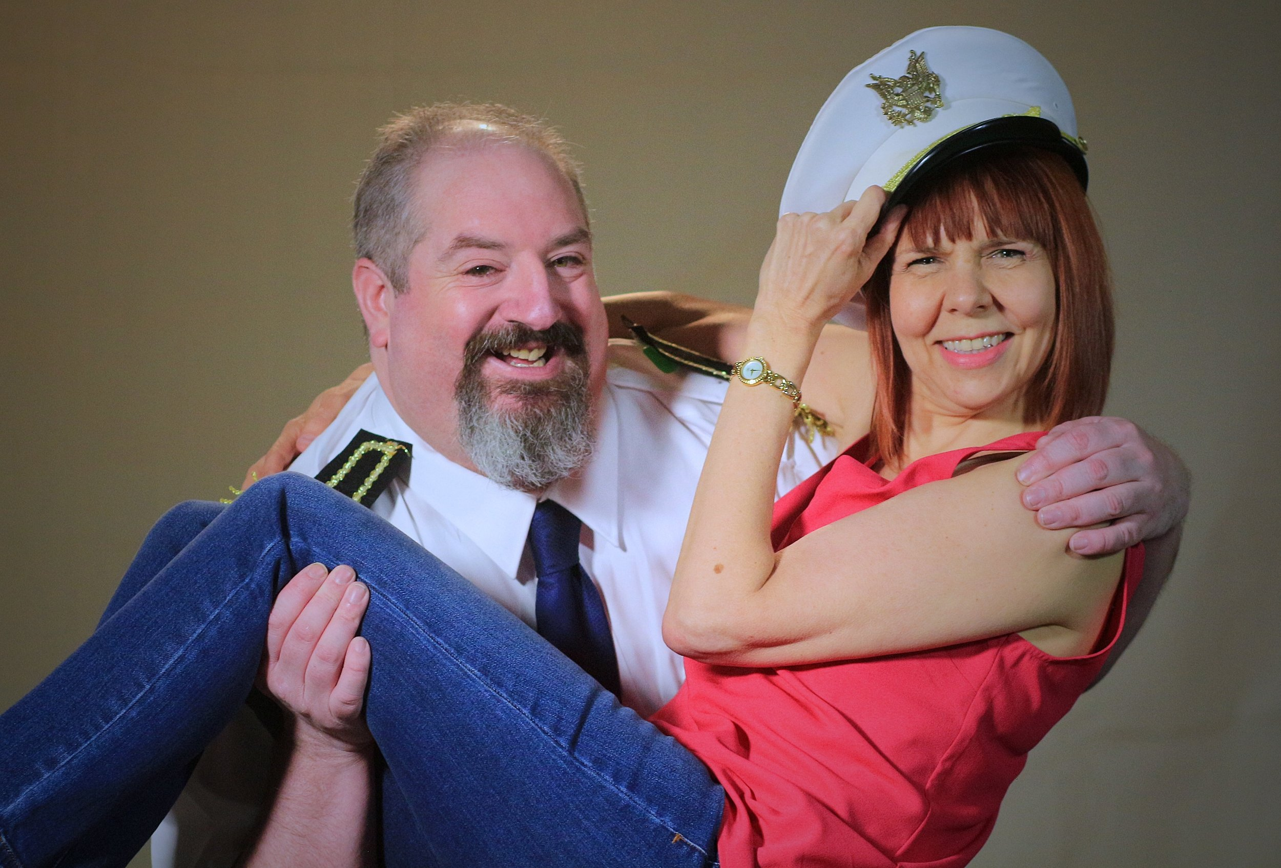Malcolm Stead and Sarah Harlow are Mal and Cara at PAL Studio Theatre.