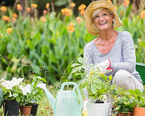 The secret knowledge that only gardeners possess … that gardening keep you young!