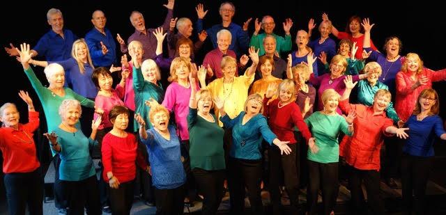 The PALS Chorus will rock the house at PAL Studio Theatre June 15. (Tony Chamberlist Photo)