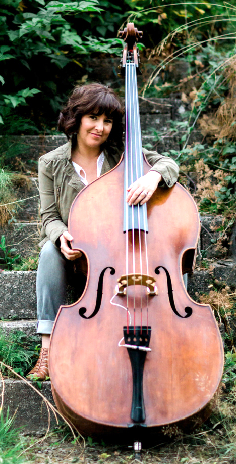 Bassist Jodi Proznick joins Ben Henriques on sax and Omar Amlani on drums for July's Jazz on the Porch session.