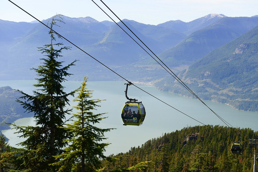 A trip up the Sea-To-Sky Gondola is just one of this month's Out-Trips organized by your community centre.