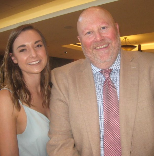 Westin Bayshore manager Eric Eikeland and marketing manager Danielle Cunningham hosted the launch party.