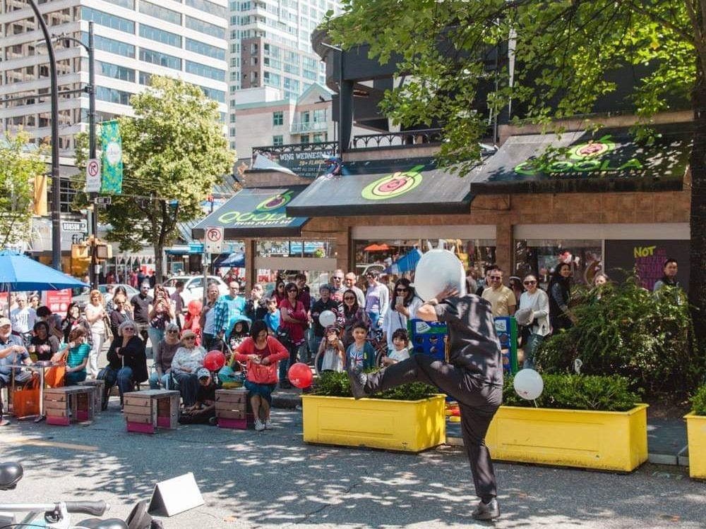Canada Day on Robson was a great success … don't miss this year's celebration.