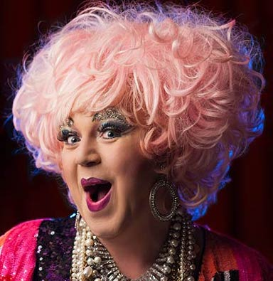 The Unstoppable Conni Smudge hosts Drag Brunch at the Junction July 13.