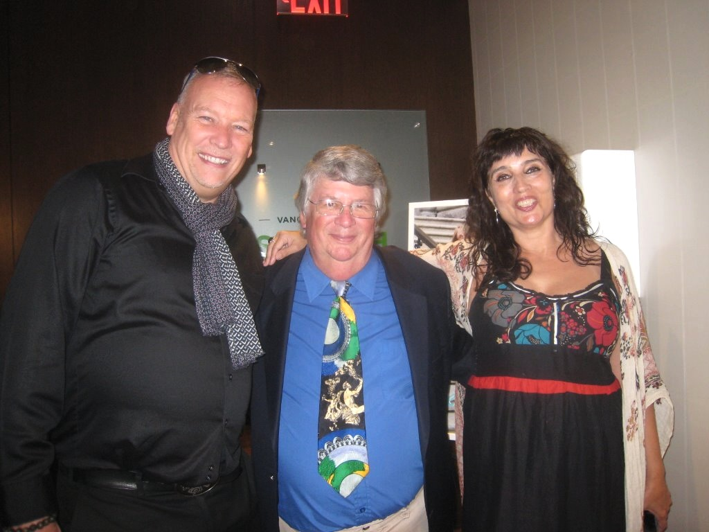 Michel Chicoine, Tim Pawsey, and Hadana Ditmars.