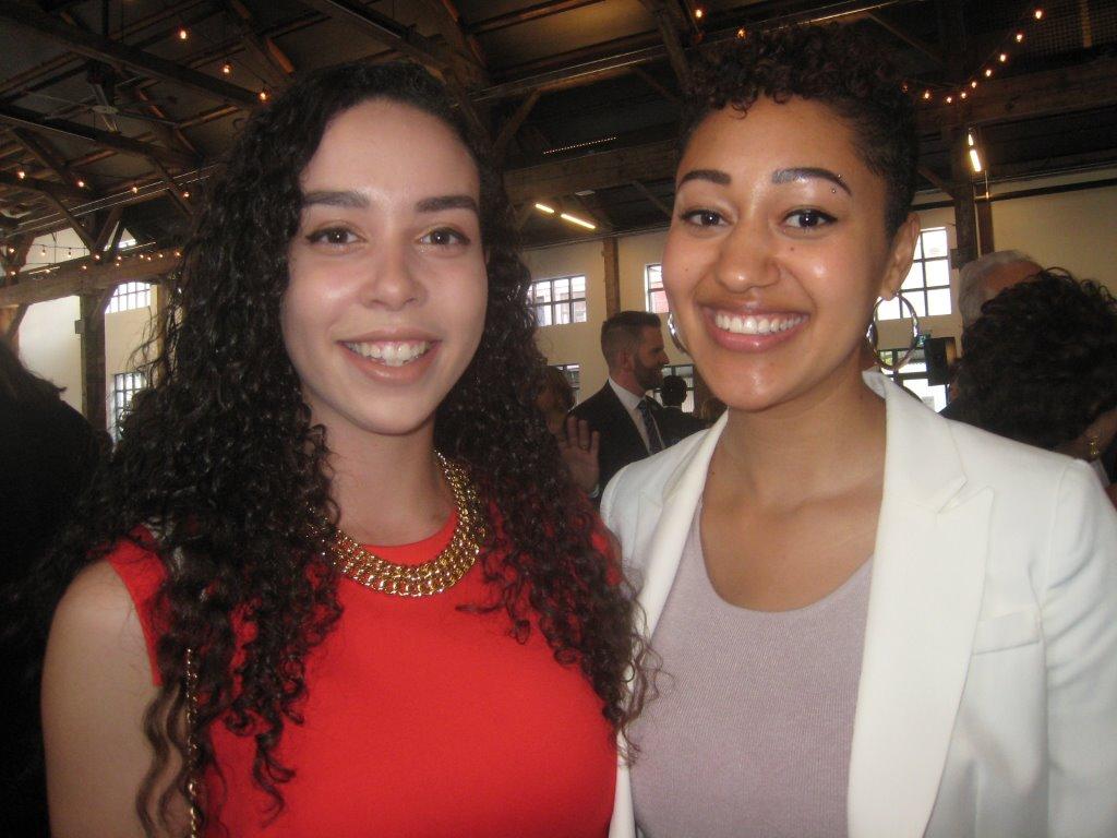 Vice-consuls Alejandra Baez and Morgan Cassell.