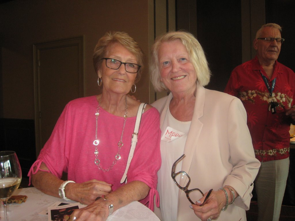 Shirley Stocker and Mary Parsons.