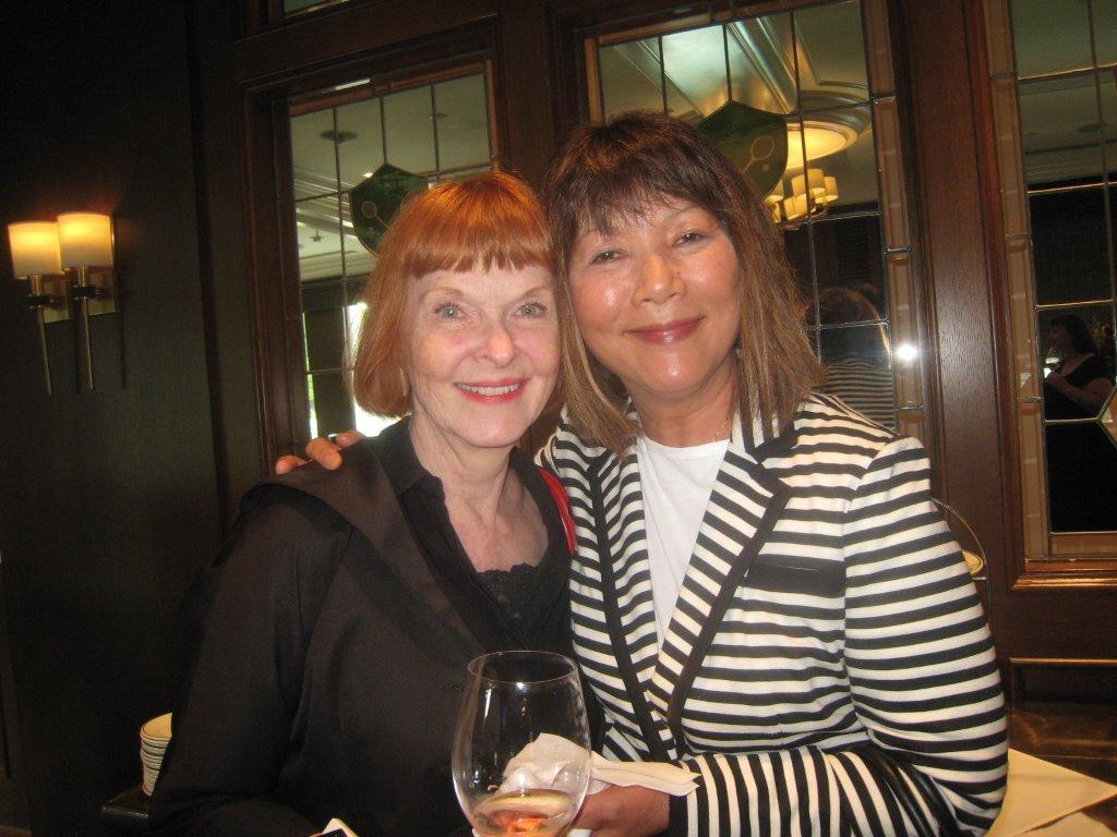 Nancy Wong and Condria Fung.