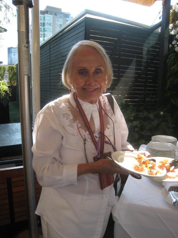 Food and beverage columnist Lenore Hayman.