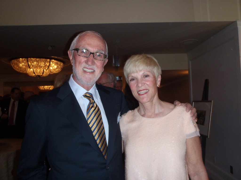 The original owners of Joe Fortes, Bud nd Dotty Kanke, from our earlier gala-gala-do files!