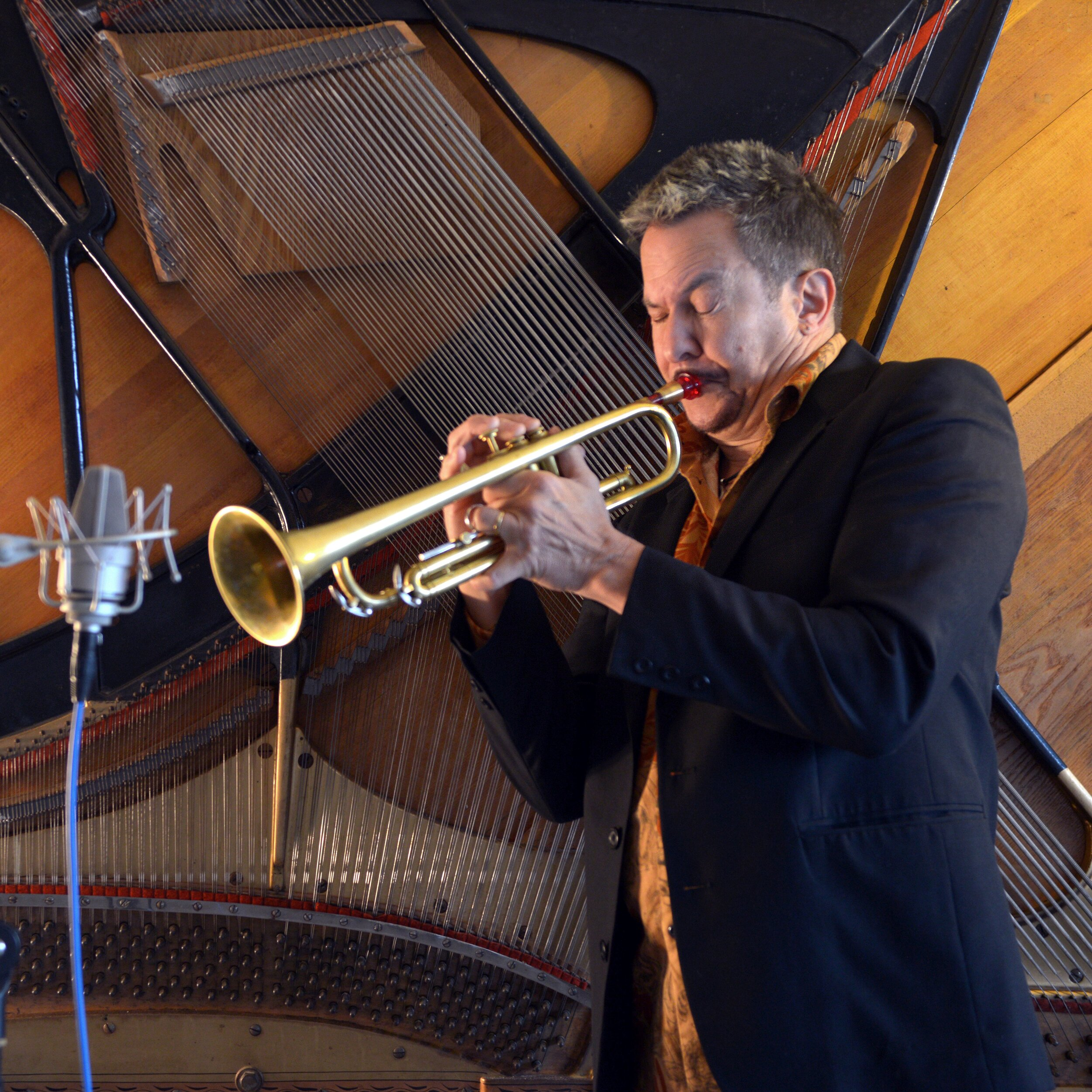 Gabriel Hasselbach performs at Jazz Vespers October 13.