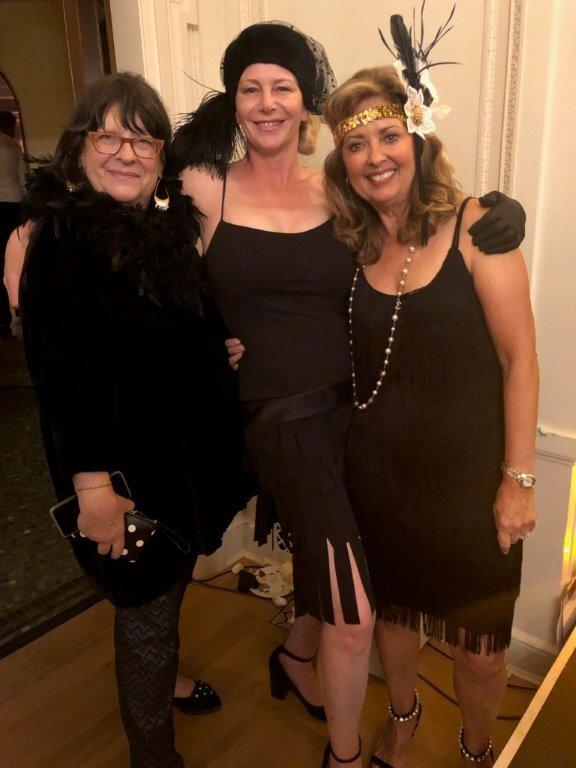 Vicki Gabereau, Dana Weekes-Bourne (chair) and Pamela Martin