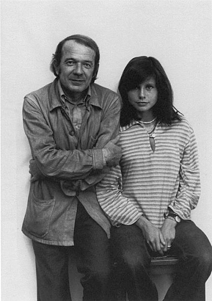 French philosopher Gilles Deleuze and journalist Claire Parnet